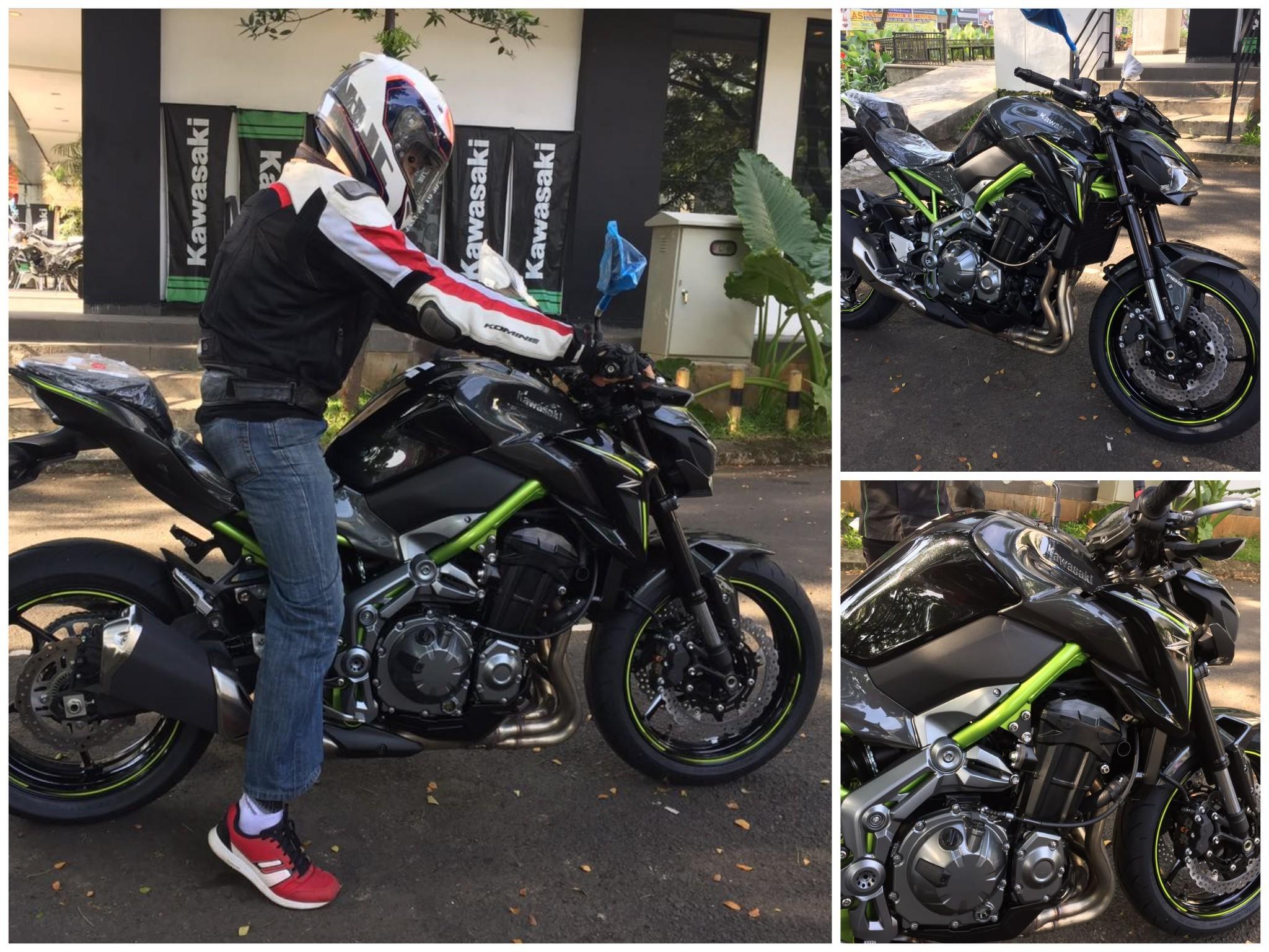 First Impression Kawasaki Z900 Mr Bigbike